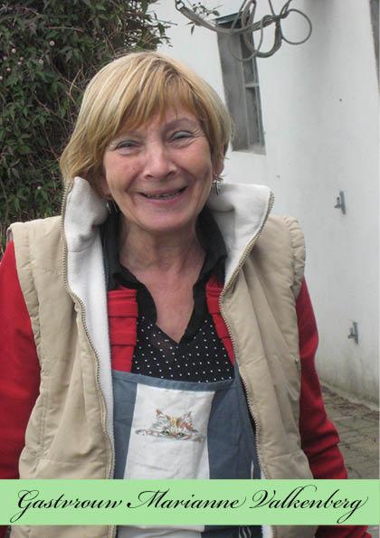 Gastvrouw Marianne